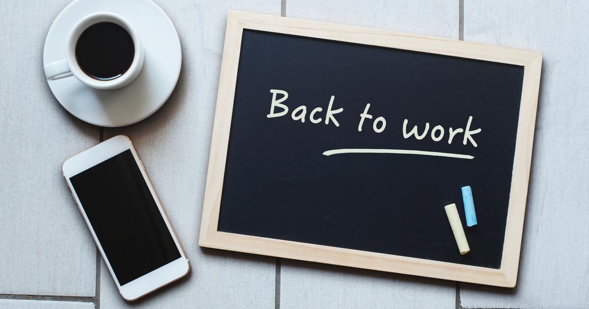 Povratak u svakodnevicu Par savjeta za preživljavanje nakon povratka s godišnjeg na posao