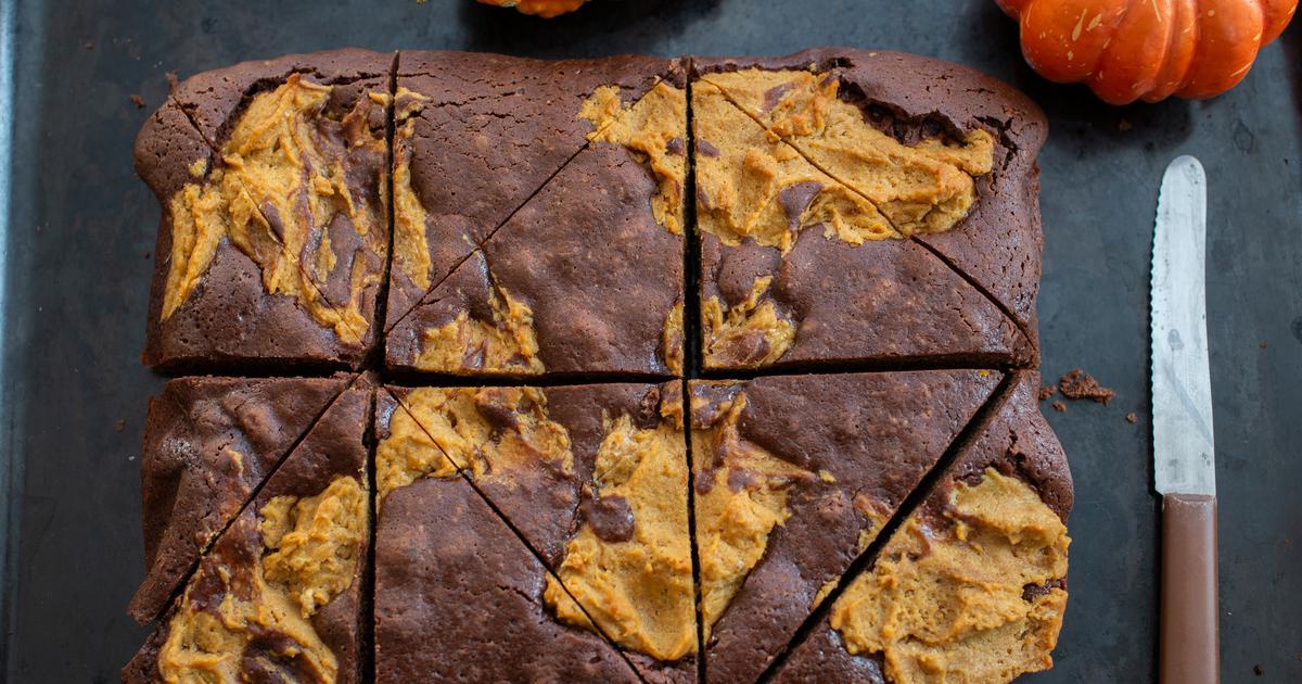 Instant rješenje za slatko zadovoljstvo Brownies od bundeve od samo dva sastojka za pravi jesenski ugođaj